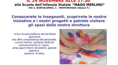 OPEN DAY SCUOLA DELL'INFANZIA MAGO MERLINO