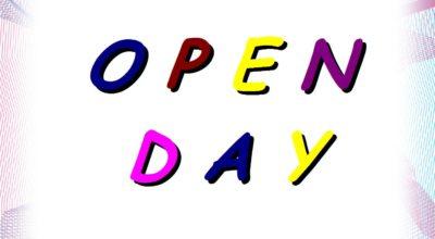 OPEN DAY! (clicca sul titolo)